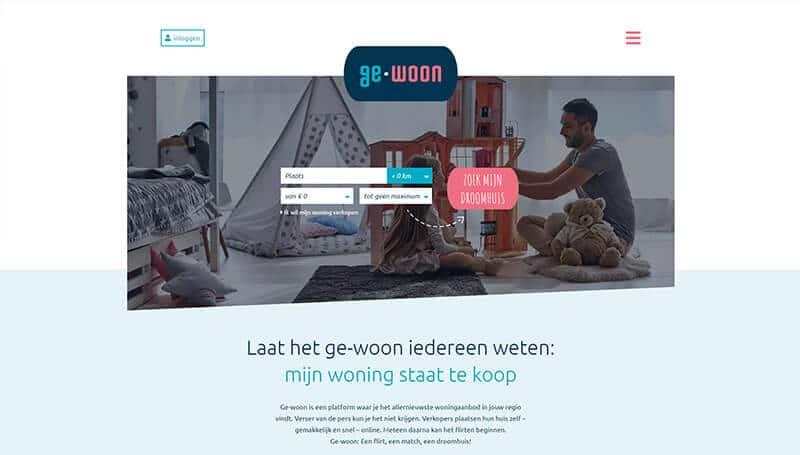 ge-woon wordpress website makelaar Oss