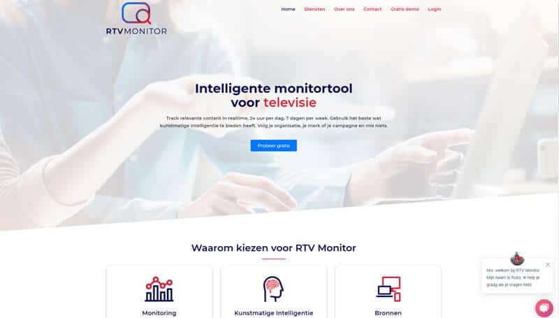 wordpress website bouwen rtv monitor
